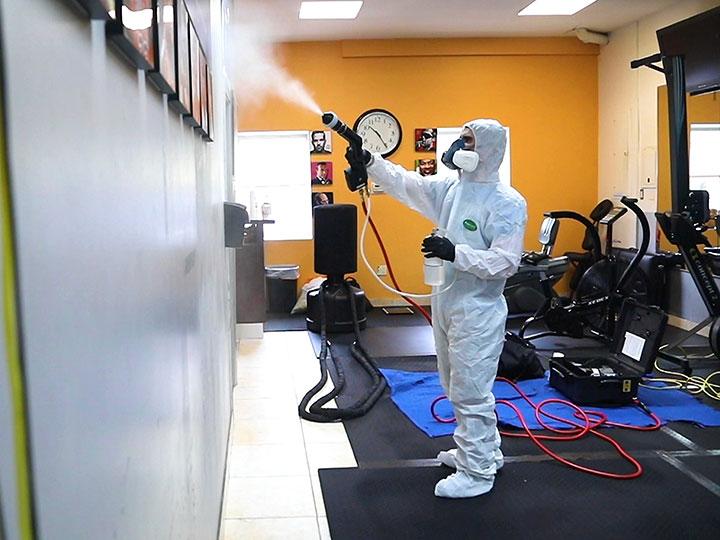 Electrostatic COVID-19 & Antiviral Fogging Disinfecting